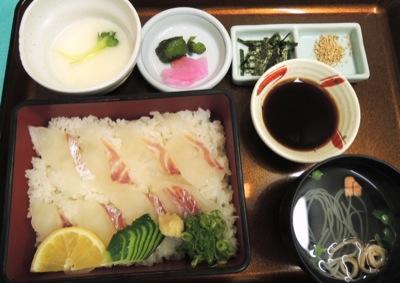 愛媛の鯛飯