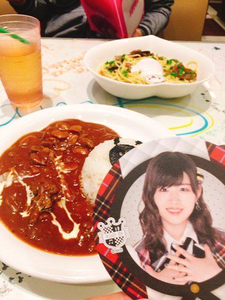 佐藤朱,あかりん,コースター,AKB48カフェ