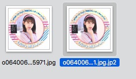 MacのSafariで画像を保存すると拡張子がjp2になるっっっ