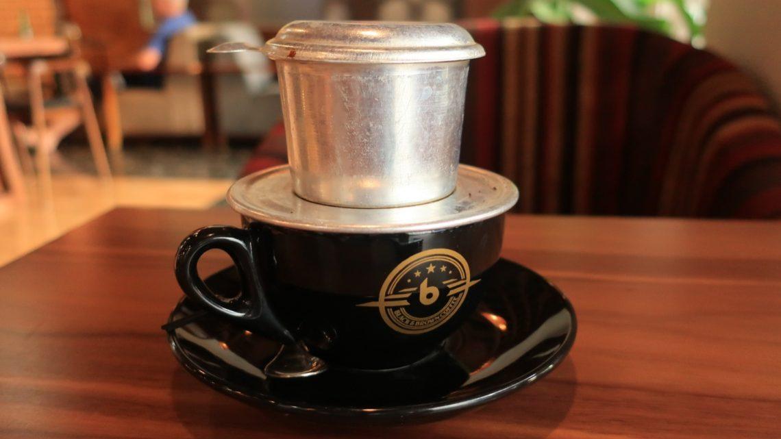 本場ベトナムのベトナムコーヒー、濃厚ドリップ、美味いヾ(@⌒¬⌒@)ノ