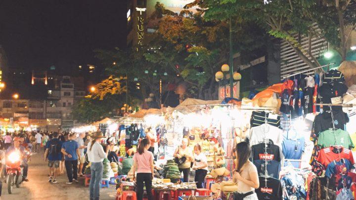 ベトナム,ベンタイン市場,ベトナム料理も美味かった