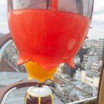 蒲田駅の幸せの観覧車,500円のクレーンゲームとのコラボ,東京