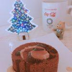 休日のスイーツはロールケーキとチョコ,バナナ,ポテト~インスタ映え~スイーツ~