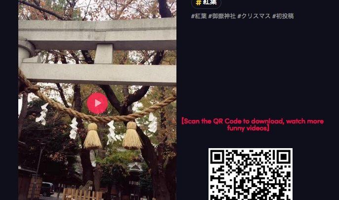海外の人たちは神社とか鳥居が好きなようだ,tiktok