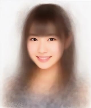 小顔の比率、平均顔は1:1:1と1:2,AKBグループの平均顔
