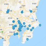 140円で1000キロ乗れるとはっっ,JR駅マップ公開,東京近郊