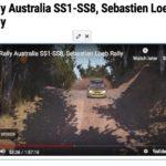 オーストラリア、おすすめは全部、特にSS4とSS8、Rally Australia, SS1-SS8, Sebastien Loeb Rally