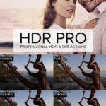 写真にHDR効果、Photoshopのフリーのアクション,HDR Pro by SparkleStock