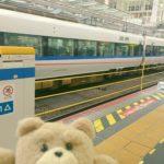 大阪駅がロープに変わってるの知らなかった