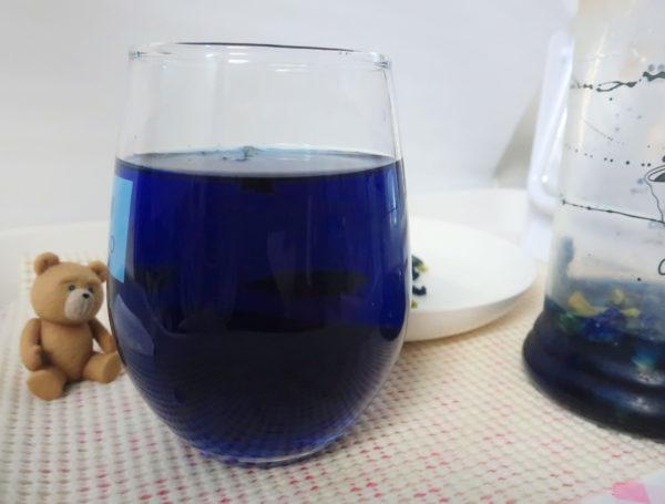 【青いドリンク】インスタ映え~青いティー、タイで流行ってるインスタ映えしそうなの作ってみた,バタフライピー