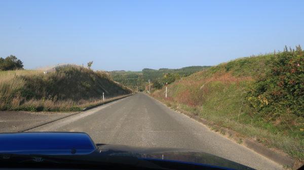 ジェットコースターの路~かみふらの~ドライバー視点~北海道の紅葉ドライブ2019~