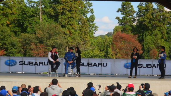 WRXファンミーティング2019~ペターソルベルグ~マキネン~奇跡のトークショー~元WRCチャピオン