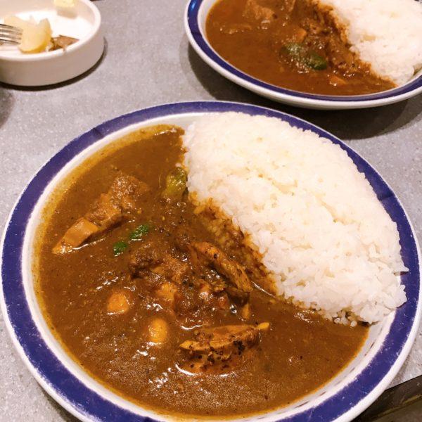 東京~カレー屋めぐり~エチオピア・本店(神保町)~チキンカレー