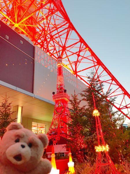 東京タワーのイルミネーション 2019