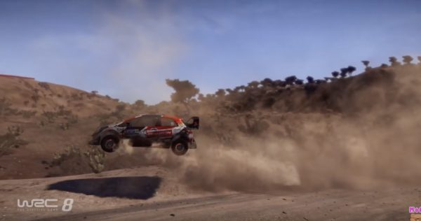 WRC 8~メキシコ~上下のうねりが激しい。 それほどヘアピンはない。トヨタ,ヤリス,シーズン2,PS4