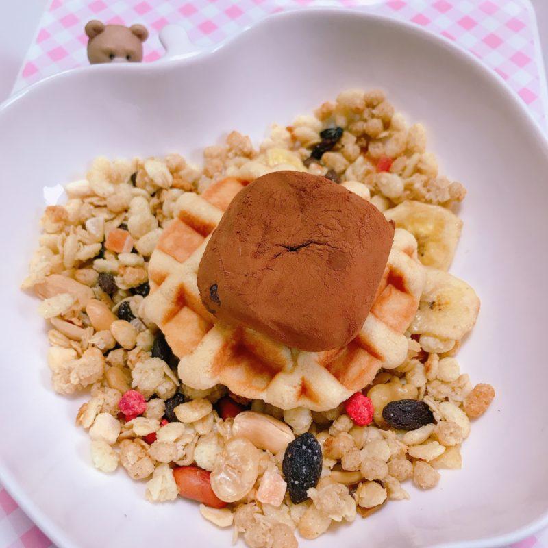 (○⌒∀⌒○)∩おは〜東京雨☂️6℃寒い!チョコ餅