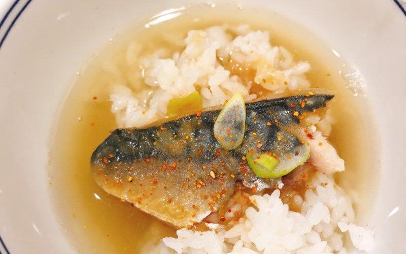 【吉野家】味噌サバ茶漬けにして、味に変化をつけてみた