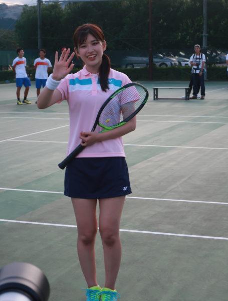 AKB48、あかりん(佐藤朱ちゃん)とテニス!!速報レポート
