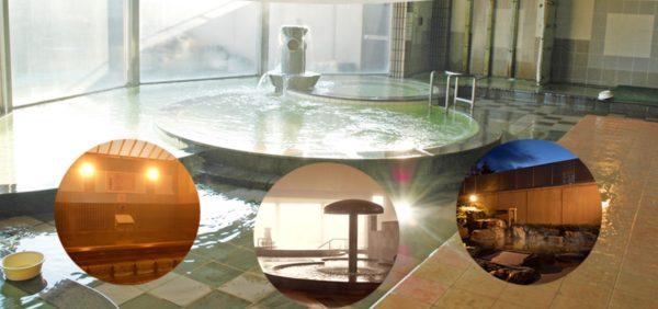 【温泉・青森】はちのへゆーゆらんど新八温泉、24時まで営業、ありがたい