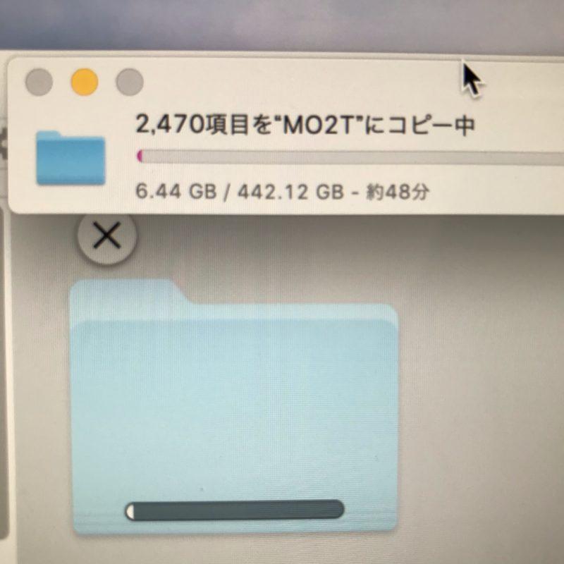 【HDD】パーティションを2TBにしたら、高速になった∩(´∀`∩)