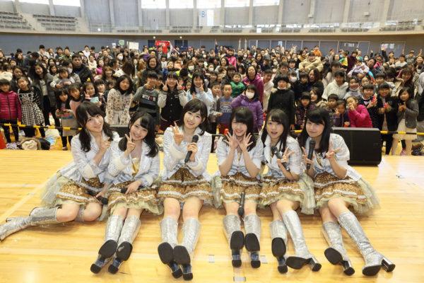 【AKB48チーム8】佐藤朱「文字通りパワーをもらった」震災を経験後、AKB48の被災地訪問ライブを見て
